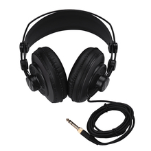 SAMSON SR850 Studio Reference Monitor Headphones Dynamic Headset Semi-open Design for Recording Monitoring Music Game Playing superlux hd668b dynamic semi open headphones hifi stereo earphone professional studio monitoring headphone dj headset