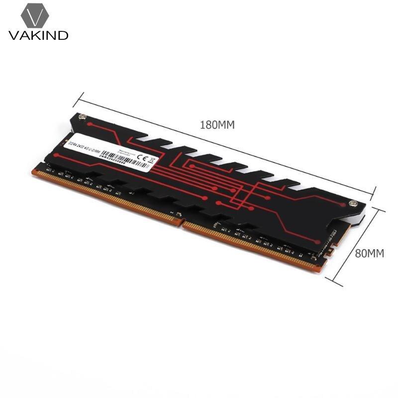 VAKIND JEU RAM Mémoire Interne 4/8 gb DDR4 2233 mhz Radiateur pour PC De Bureau Ordinateur Portable Intel AMD - 6