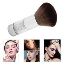 Portable Soft Nail Brush Rhinestone Handle Dust Cleaner Cleaning Brushes Manicure Tools for Care Clean