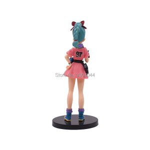 Image 5 - 3 Style Dragon Ball Z Glitter & Glamours Lunchi Lunch Buruma Bulma Figure Action PVC Collectible Model Toy For Children Gift
