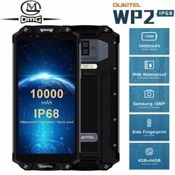 OUKITEL WP2 смартфон с 5,5-дюймовым дисплеем, восьмиядерным процессором, ОЗУ 4 Гб, ПЗУ 64 ГБ, 16 Мп, 10000 мАч, Android 8,0