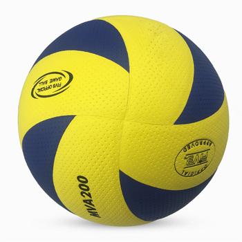 Nowy rozmiar marki 5 PU miękka w dotyku piłka do siatkówki oficjalny mecz MVA200 siatkówki wysokiej jakości trening na hali piłki siatkowe tanie i dobre opinie CROSSWAY Kryty piłka treningowa