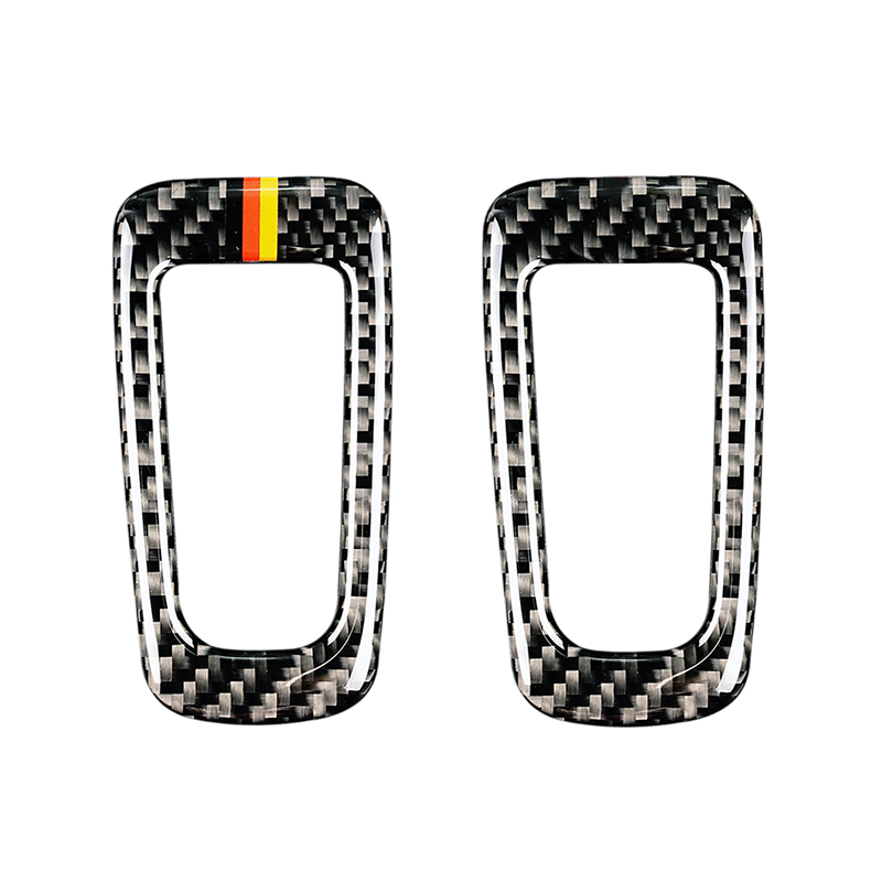 For Mercedes Benz C Class W205 C180 C200 C300 GLC260 Carbon Fiber Car Electronic Hand Brake P Button Frame Cover-in Interior Mouldings from Automobiles & Motorcycles