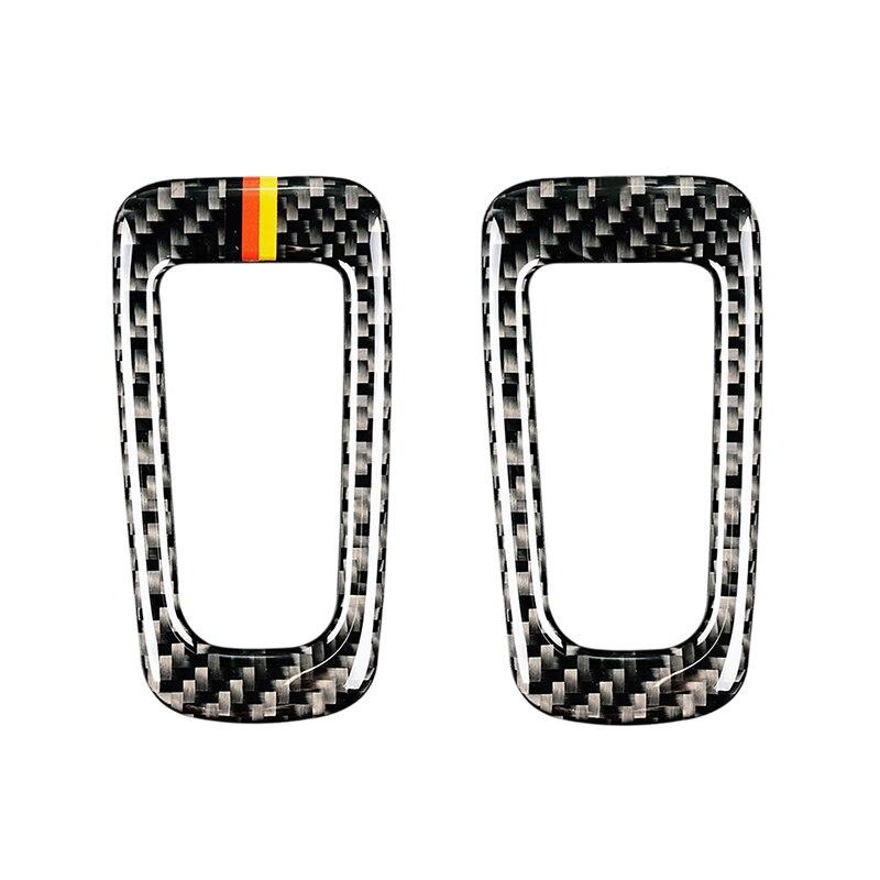 Для Mercedes Benz C Class W205 C180 C200 C300 GLC260 углеродного волокна автомобилей электронный ручной тормоз P Кнопка рамка Крышка-in Лепнина для интерьера from Автомобили и мотоциклы