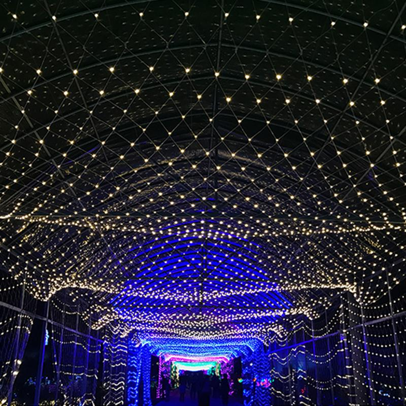 Led String Lights Net Christmas Fishing Outdoor Waterproof And Decorative Wedding Ceremony In Strips From