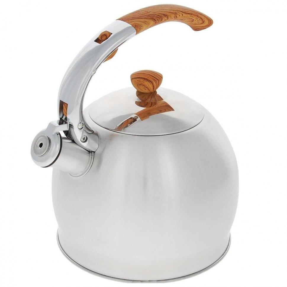 Kettle TECO, 3,5 L, with whistle самовар kelly kettle trekker alumin 0 5 l