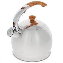 Чайник TeCo, 3,5 л, со свистком
