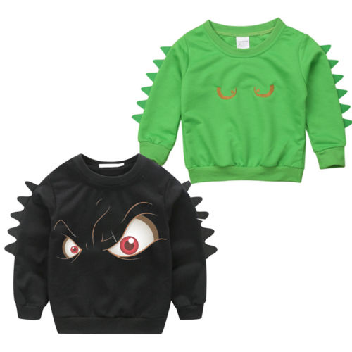 Boys Sweater Clothing Children Pullover Baby Cotton Cartoon Kid Coat Long-Sleeve