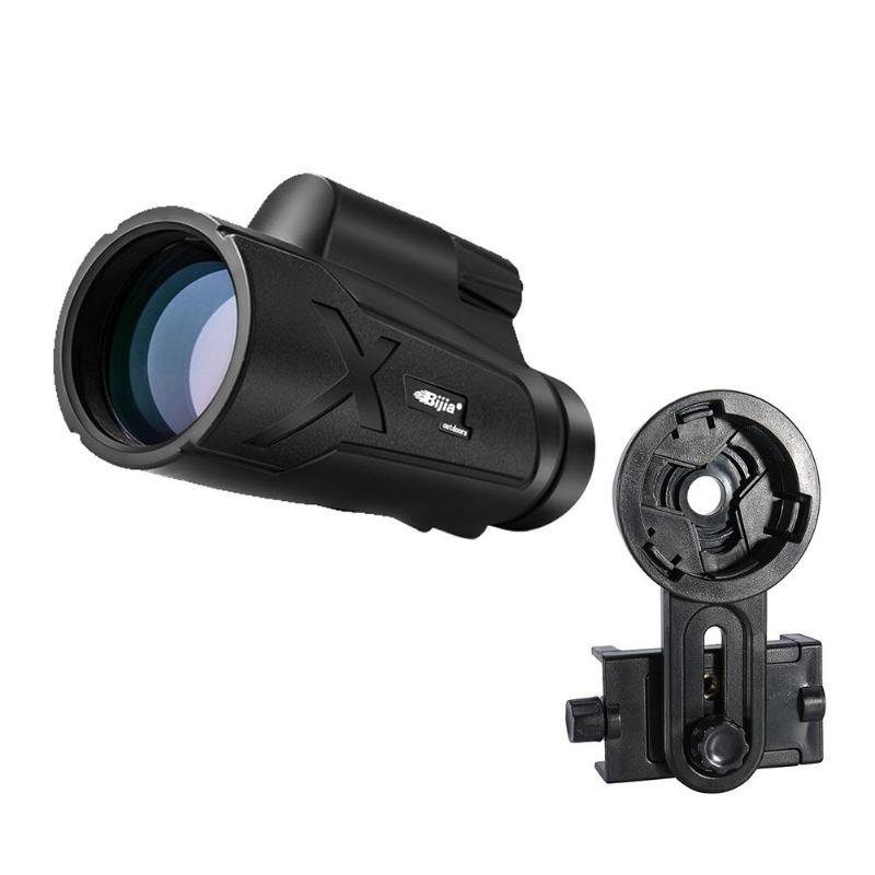 BIJIA 12X50 Zoom HD telescopio Monocular Mini telescopio de enfoque portátil impermeable caza al aire libre-in Telescopios y binoculares from Herramientas on AliExpress - 11.11_Double 11_Singles' Day 1