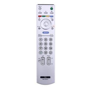 Image 1 - Evrensel TV uzaktan kumanda denetleyici yedek Sony TV için akıllı LCD LED RM ED007 RM GA008 RM YD028 RMED007 RM YD025 beyaz
