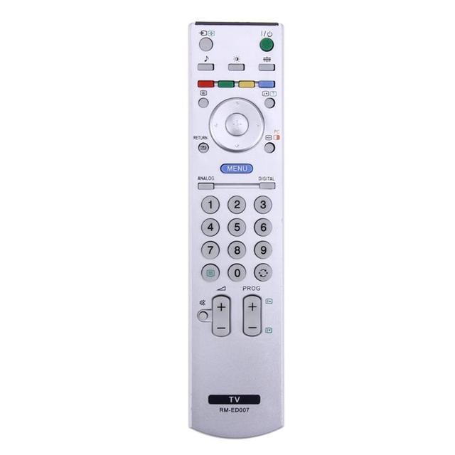 Evrensel TV uzaktan kumanda denetleyici yedek Sony TV için akıllı LCD LED RM ED007 RM GA008 RM YD028 RMED007 RM YD025 beyaz