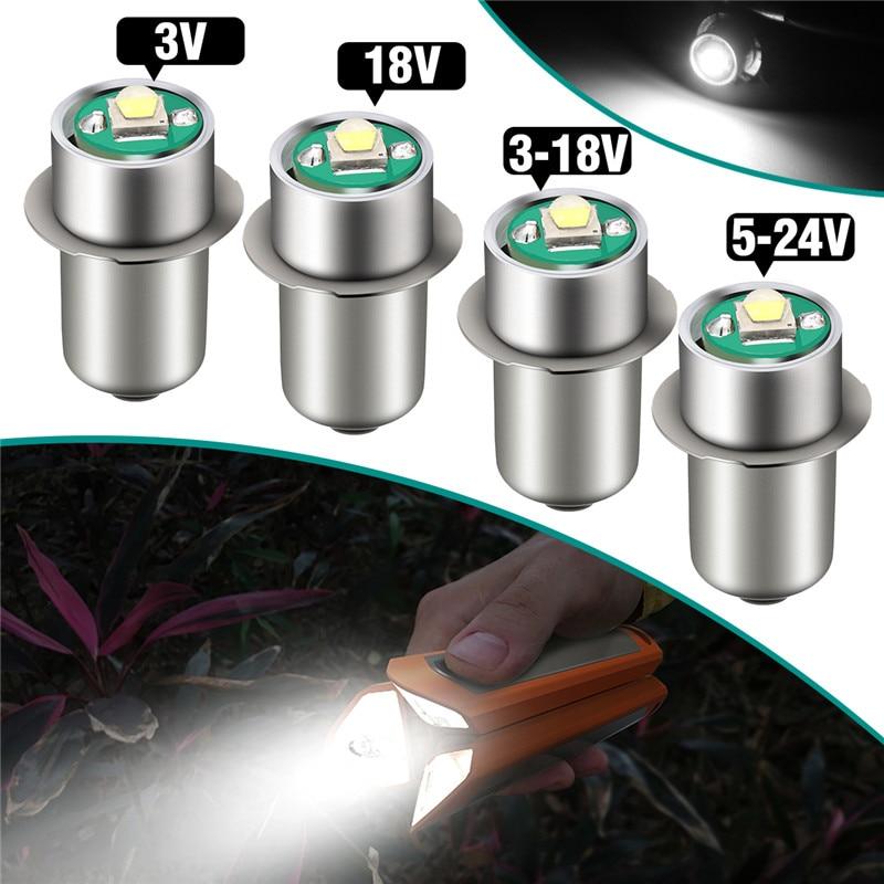 1 Uds. P13.5S 3W bombilla LED para linternas 3V 18V DC3-18V/5-24 V bombillas LED de repuesto iluminación de actualización de linterna LED