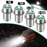 1Pcs P13.5S 3W LED Bulb For flashlights 3V 18V DC3-18V/5-24V LED Replacement Bulbs LED Upgrade Flashlight Lighting