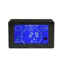 9 36V Multifunction GPS Signal Speedometer Odometer Voltmeter Gauge Time Hour Meter for Car Truck