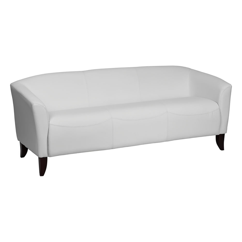 Flash Furniture HERCULES Imperial Series White Leather
