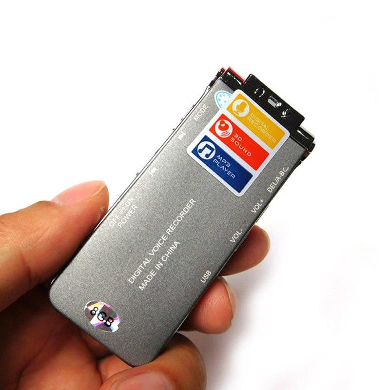 8 Gb Professionelle Digital Stereo Voice Recorder Diktiergerät Digital Voice Telefon Recorder Mp3 Wma Mic Usb Mit Lautsprecher Sk012 Und Verdauung Hilft Tragbares Audio & Video