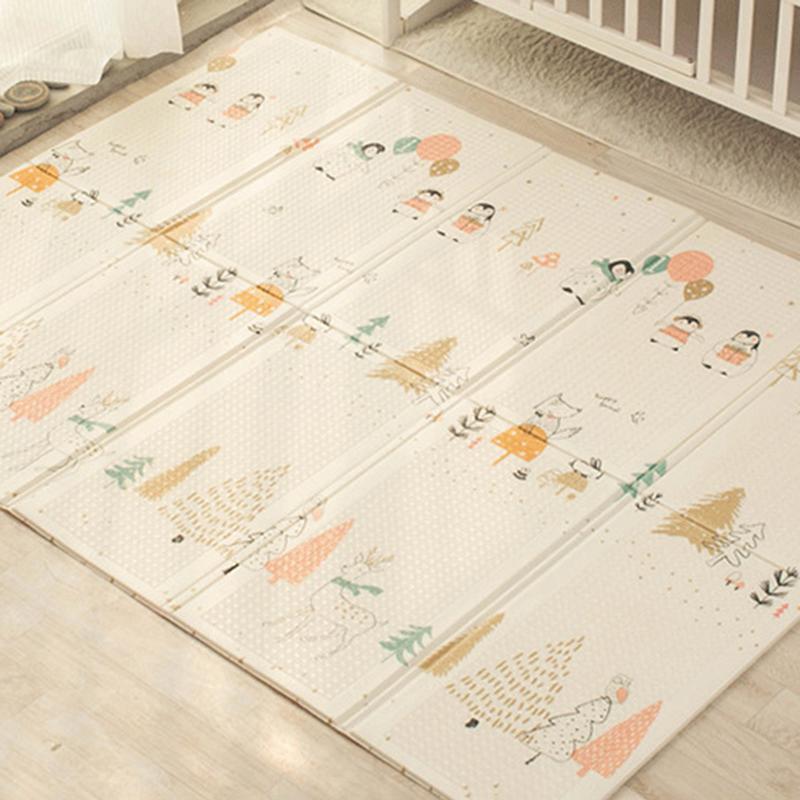 Tapis rampant bébé pliant écologique tapis de pique-nique XPE tapis d'escalade tapis de jeu salon tapis en mousse