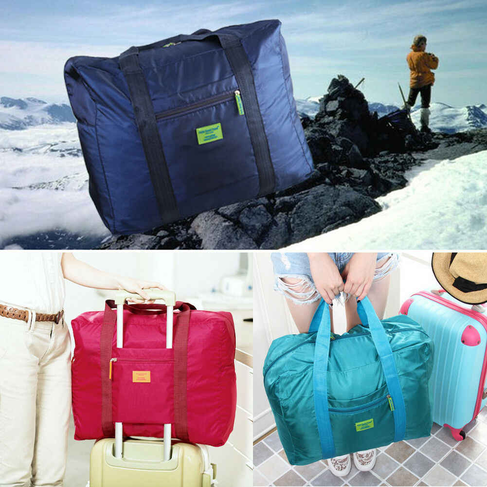 Новая складная дорожная сумка для багажа большого размера, водонепроницаемая дорожная сумка для путешествий