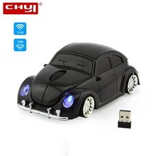 CHYI 3D Wireless Mouse Computer Mice Sport Car Shape Mouse 1600DPI with USB Receiver Mause For PC Tablet Laptop Gaming Mouse цена и фото