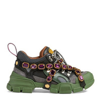 Ins/Осенняя женская обувь белого цвета, украшенная кристаллами и металлическими украшениями, модные сникерсы на платформе, роскошная женска