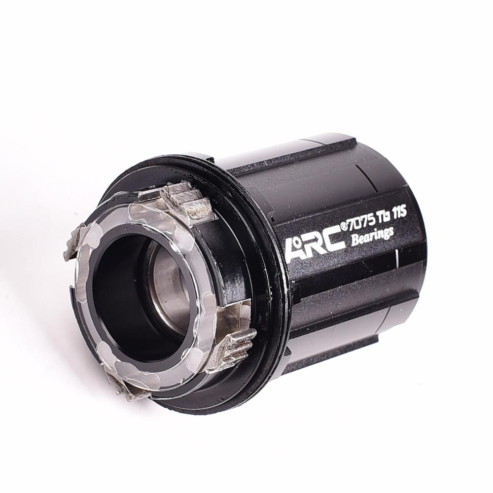 ARC freehub and adapter 8 9 10 11 12 speed Replacement body Rear hub 4/6pawls Aluminum alloy cassette body 7075 Tb 11S Bearings