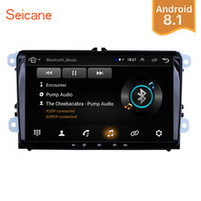 Seicane Android 8.1 Car Multimedia player 2Din For VW/Volkswagen/Golf/Polo/Tiguan/Passat/b7/b6/SEAT/leon/Skoda/Octavia Radio GPS(China)