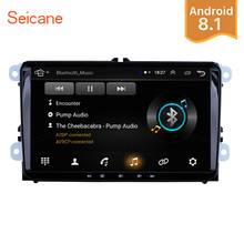 Seicane Android 8 1 font b Car b font Multimedia player 2Din For VW Volkswagen Golf
