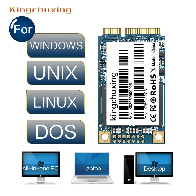 MSATA SSD 256GB 128GB 64GB 32GB Internal Solid State Hard Drive Disk Kingchuxing Mini SATA  For Laptop Desktop