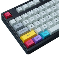 29PCS DSA Profile CMYK Color Dyesub PBT Keycaps Keycap Set CTRL WIN ALT SHIFT Gaming Mechanical Keyboard Keycap Only Sell Keycap
