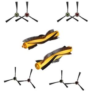 8 sztuk boczne szczotki + 2 sztuk szczotka główna dla Ecovacs Deebot M81 DM81PRO M85 M88 OZMO 930 DR95 DR96 DR97 DR98 odkurzacz