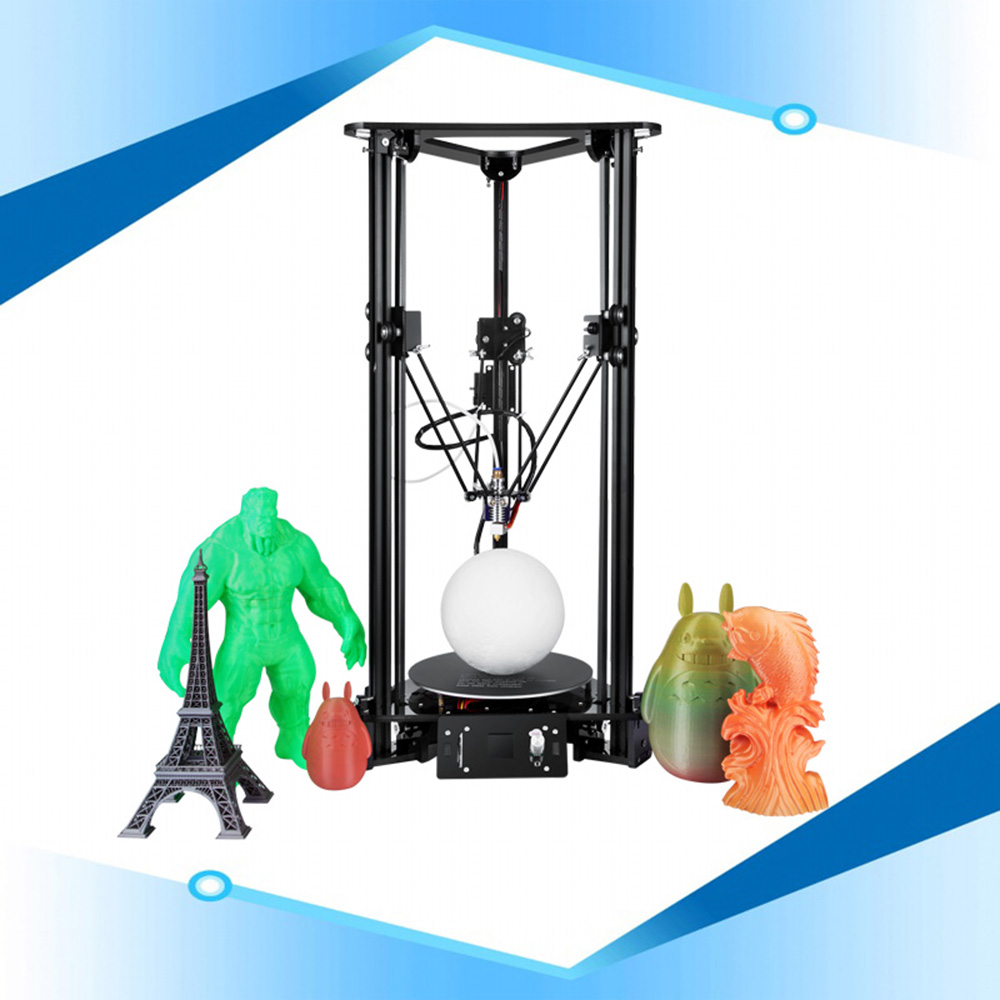 High Precision Delta 3d Printer PLA/ABS Printing Machine Sinis T1 3d Printer Diy Kit Affordable 3d Printer Machine