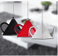 Fashion Simple Resin Chandelier Living Room Bedroom Led Lamp Chandelier Chandelier Corridor Teapot