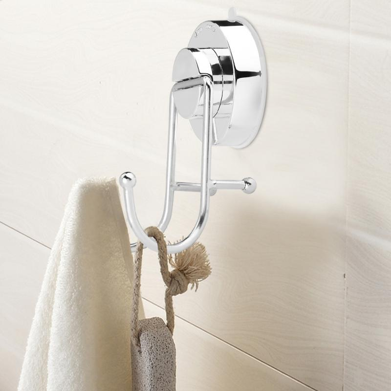 Hanger-Holder Suction-Cup Wall-Hook Stainless Bathroom Sucker Kitchen Strong
