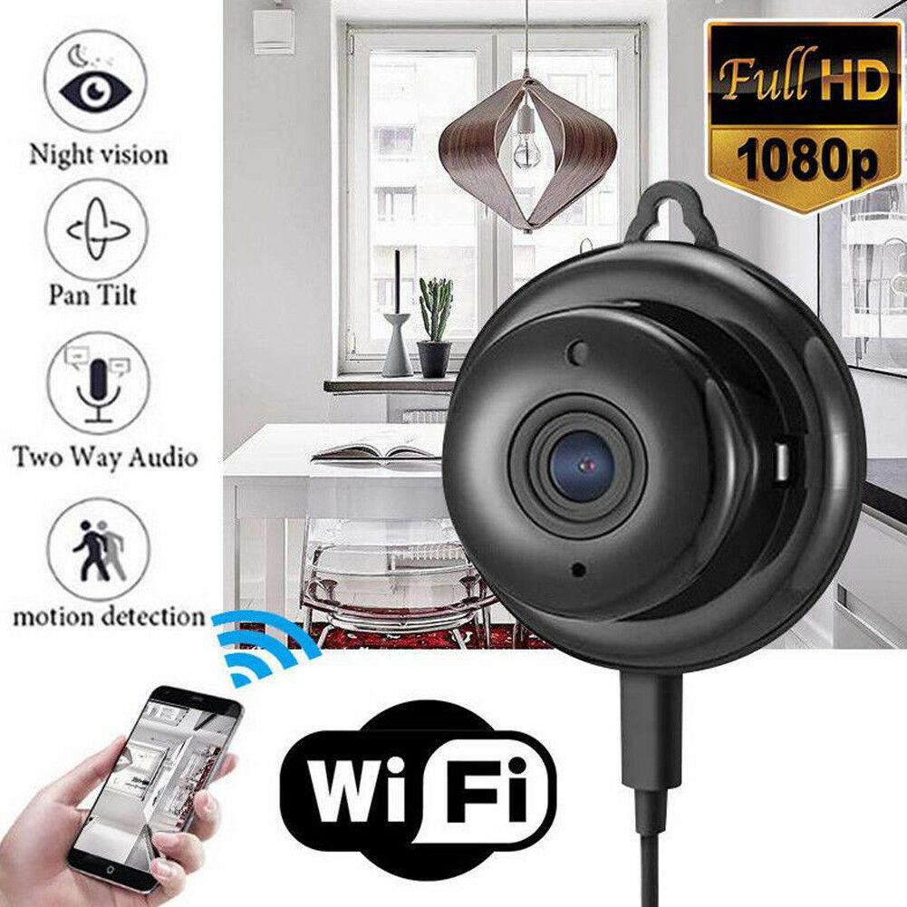 1080P Wireless Mini WIFI IP Camera HD Smart Home Security Camera Night Vision1080P Wireless Mini WIFI IP Camera HD Smart Home Security Camera Night Vision