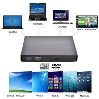 Universal USB 2.0 Portable External Ultra Speed CD ROM Car CD/DVD /MP5 Player Drive Car Disc For IMac/MacBook Air/Pro Laptop PC