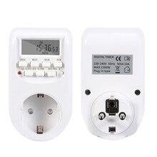 Kitchen Timer Timing-Socket Outlet Programmable Eu-Plug Digital Energy-Saving Week-Hour