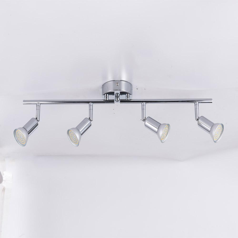 Draaibare led plafondlamp hoek verstelbare showcase lamp met GU10 led lamp Woonkamer LED kabinet spot verlichting