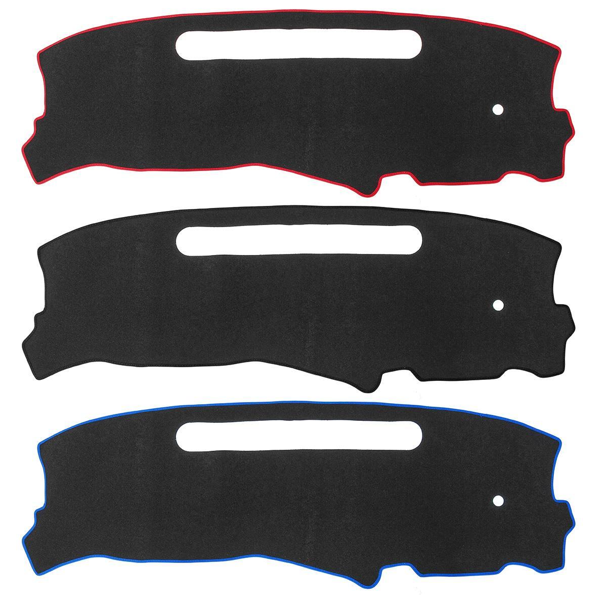 uxcell Car Black Dash Sunshield Cover Dashboard Mat Carpet for 2014-2015 Audi A3