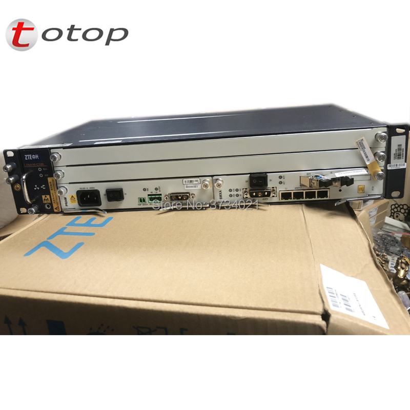 100% Original ZTE ZXA10 C320 OLT Chassis+Fan, ZTE C320 Optical Line Terminal