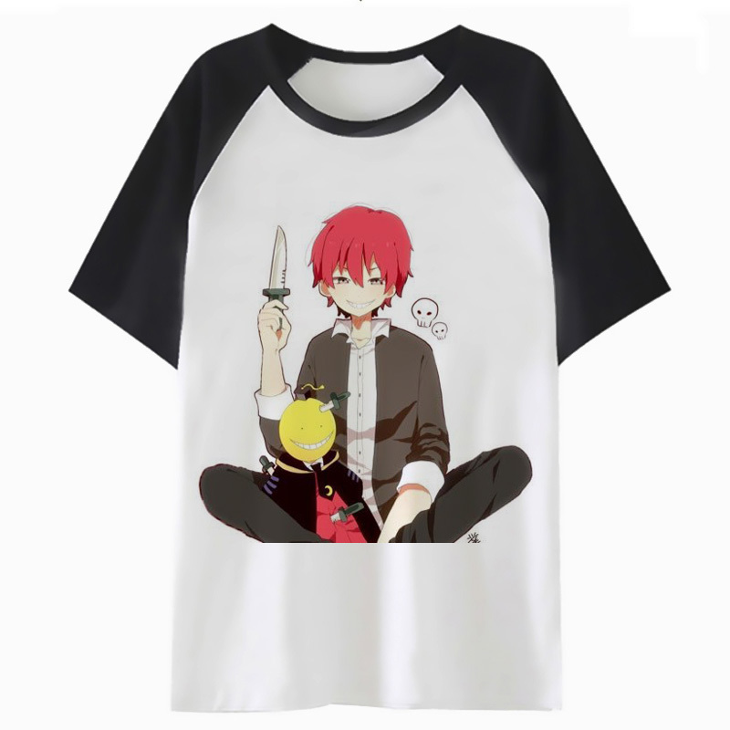 Karma Akabane T Shirt For T-shirt Tshirt Men Top Harajuku Streetwear Male Clothing Funny Hop Tee Hip P1524