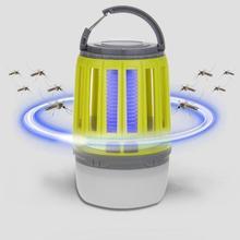 Противомоскитный фонарь, лампа для кемпинга, usb зарядка, лампа для уничтожения комаров, многоцелевой Отпугиватель вредителей, водонепроницаемый, убийца насекомых