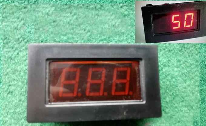 Led Digital Frequency Meter 0Hz-300Hz F Inverter Input Signal Sine Wave Square Wave