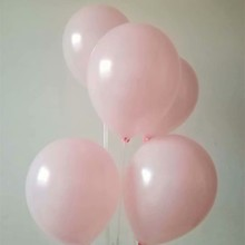 Light pink baloons 100pcs/lot 1.5g pearl latex balloon wedding decorations air ballon party decoration for kids balloons baby