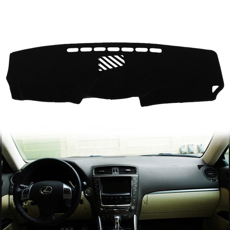 Car DashMat Dashboard Dash Mat Dash Pad Sun Shade Cover For Lexus IS 250 350 IS F 2006 2007 2008 2009 2010 2011 2012 2013 LHD