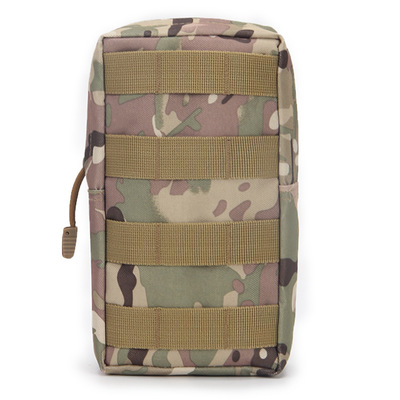 Hot Sale Waterproof Tactics Small Zipper Bag Outdoor Army Fan MOLLE System Accessory Bag Tactical Pocket Bag Emergency Kits