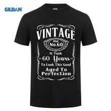 GILDAN Game Shirt Short Crew Neck 60Th Birthday 60 Years Old Retirment Zomer Mens T Shirts