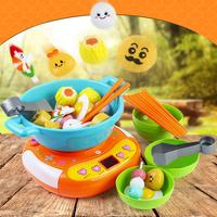 Children Simulation Kitchen Toy Young Chef Cookware Playset Pretend Play Toys For Children Interactive Fun Educational Toy