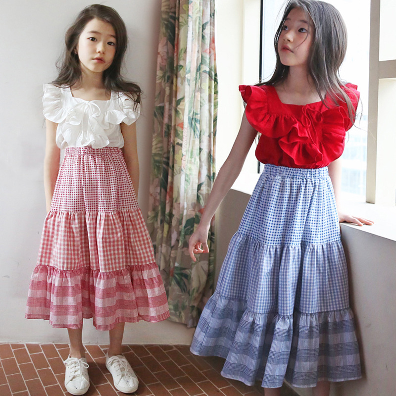 Baby Girls Summer Maxi Dress of 2019 New Cotton Kids Dresses for Girls Baby Princess Dress Children Vest Dress Ruffles,#5130Baby Girls Summer Maxi Dress of 2019 New Cotton Kids Dresses for Girls Baby Princess Dress Children Vest Dress Ruffles,#5130