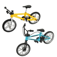Creative Simulation Mini Funny Alloy Bicycle Finger Functional Kids Bike Toy