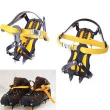 Strap Type Crampons Ski Belt High Altitude Hiking Slip-resistant 10 Crampon Ice Gripper for Winter Outdoor Skiin